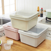 Hot - selling multi - functional folding plastic storage box with lid foldable boxes