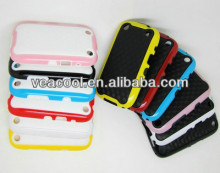 Plate+Color Bumper Frame TPU case Cover for Blackberry Curve 9220 9320 case