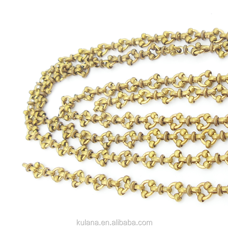 brass chain thick jewelry detail chains product buy made qingdao hand