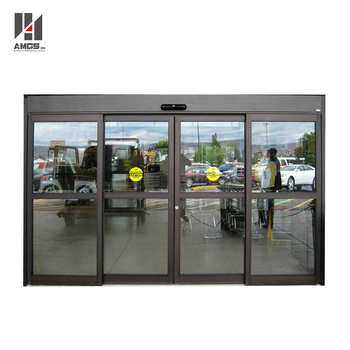 Commercial Building Entry Door Drive System Safety Sensor Glass
