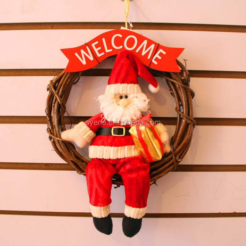 Weihnachten Handmade Hängen Puppen Für Kinder Weihnachten Santa ...