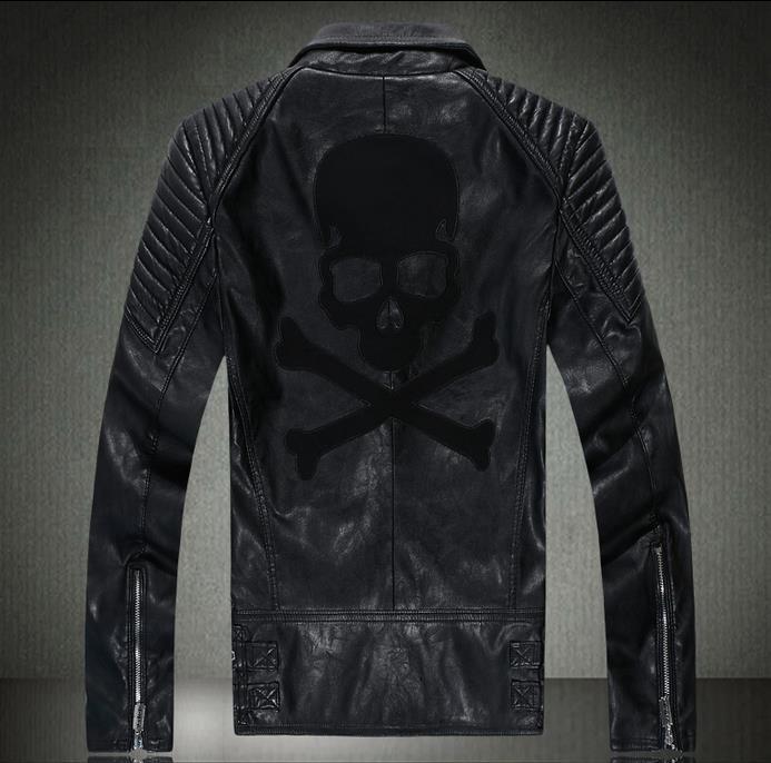 popular skull motorcycle jacket buy cheap skull motorcycle jacket lots from china skull. Black Bedroom Furniture Sets. Home Design Ideas