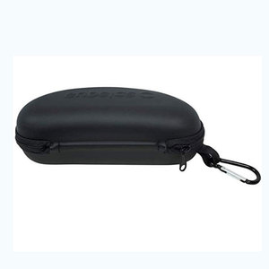 Waterproof Sunglasses and Eyeglasses Case - Durable, Hard EVA Zippered Glasses Case