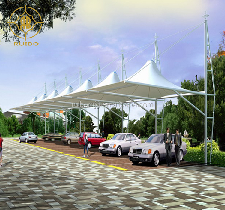Car Parking tent Tensile Fabric roof, Garages, Canopies & Carports