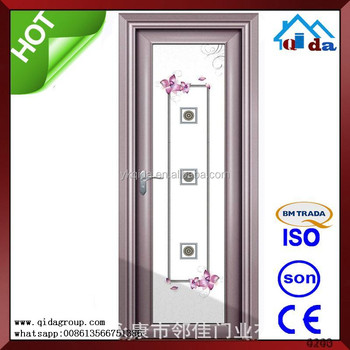 Beautiful Aluminium Used Commercial Double Glass Entry Door Buy