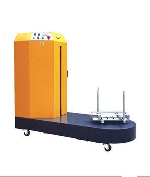 luggage plastic wrap machine