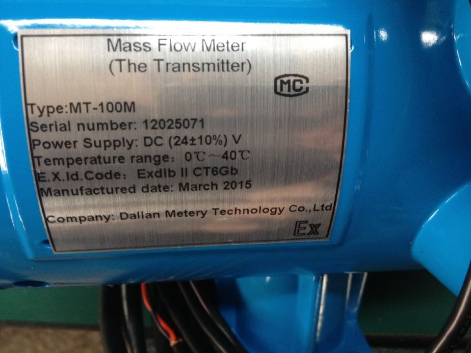 Coriolis Mass Flowmeter Flow Meter China Supplier
