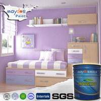 Maydos Smooth Feeling Washable Odorless Interior Wall Paint(China Wall Paint Manufacturer)