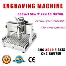 NEW Design 3040 Mini CNC Router Engraver Drilling and Milling Machine 3 Axis with Mach3 software