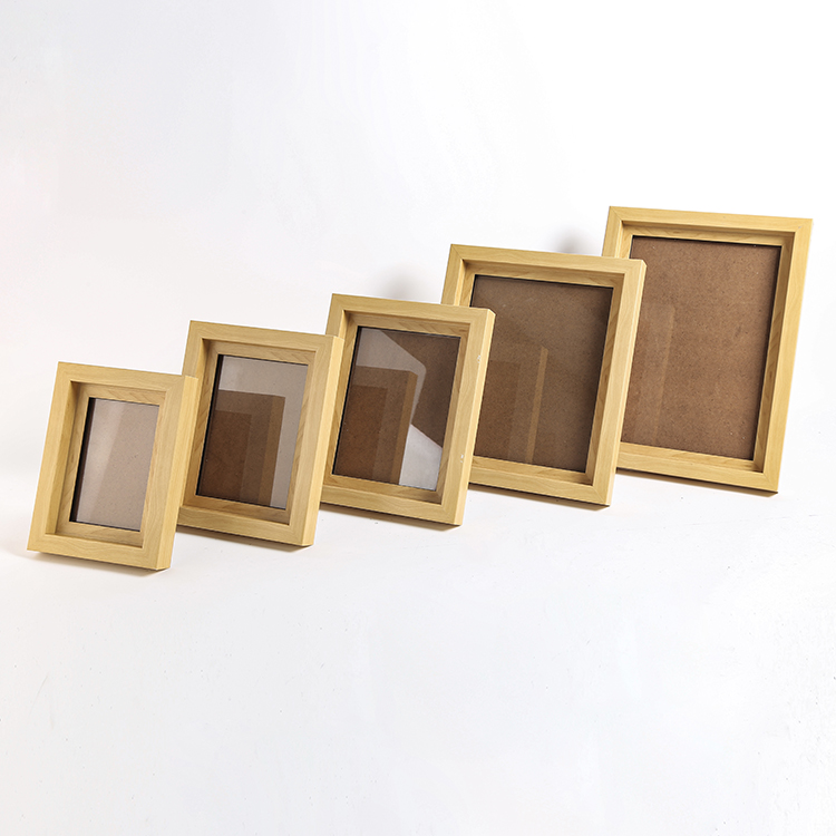 Hot Selling Good Quality Customized Size Plastic Double Pictures Photo Frames