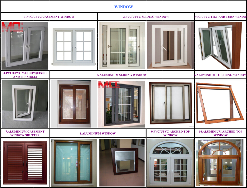 Latest australia standard 3 panel french doors pvc double for Top window design