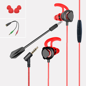 2019 New Products Wired In ear Headphones Gaming Earphones with Exernal Microphone