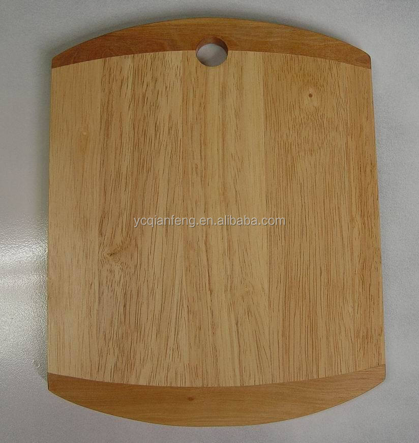 Rubber Wood Cheese board in good finish. small size.