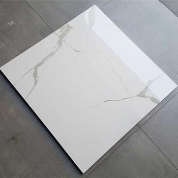 House Livingroom Design White Color Standard Size Vitrified Tile Floor