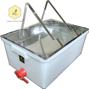 Beekeeping Honey bee l uncapping tray tank