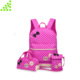 3pcs casual canvas top name brand kids school bag set backpack