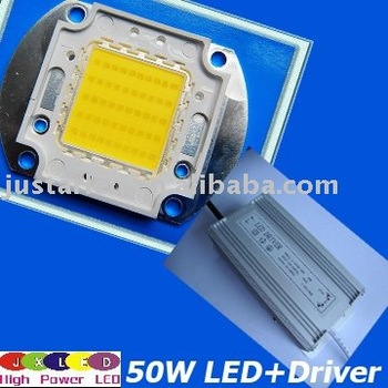 50w High Power Led + Ac/dc Driver