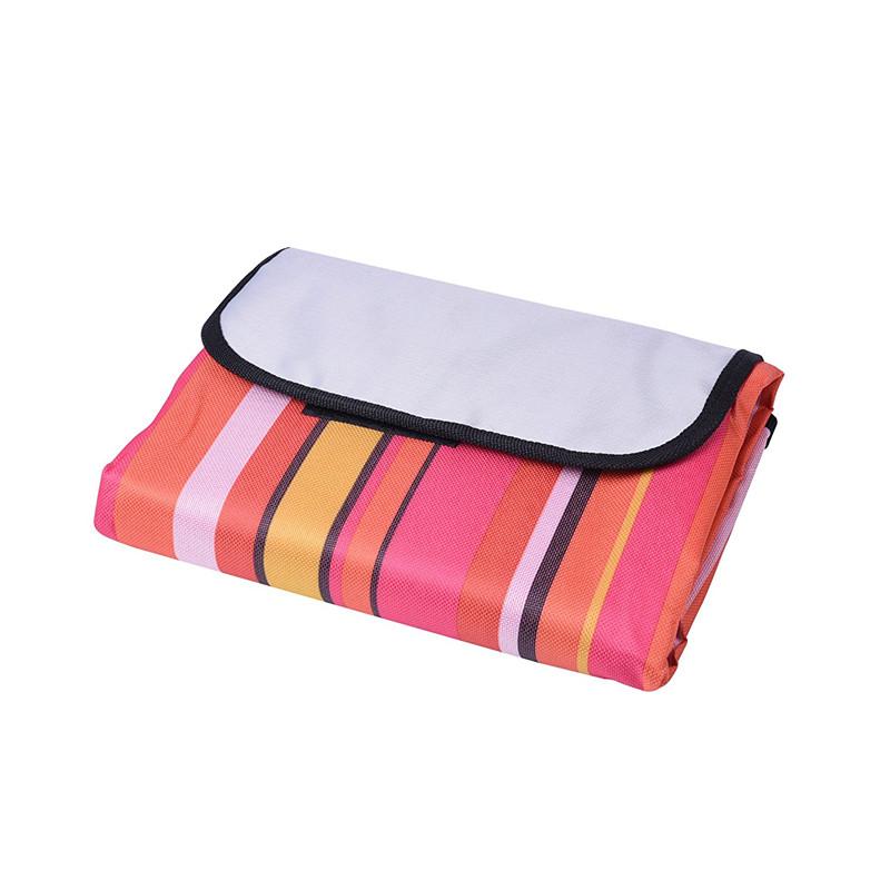 Compact Sand Proof Beach Blanket Oversized XXL 7'X9' Ripstop Lightweight Parachute Nylon Picnic Blanket