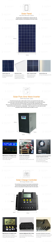 Best Sun 2000w Home Use Solar Power System Solar Power Generator