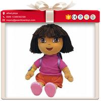 Dora movie sesame street character custom plush dolls