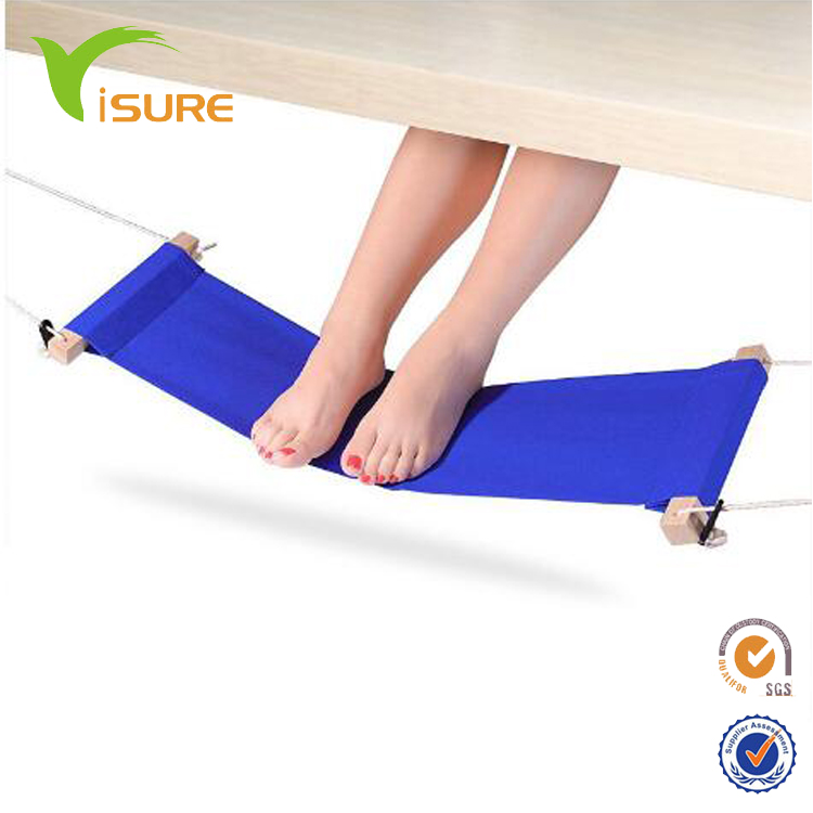Hot sale foot rest, travel relax, office footrest, fufu portable mini adjustable hammock foot rest