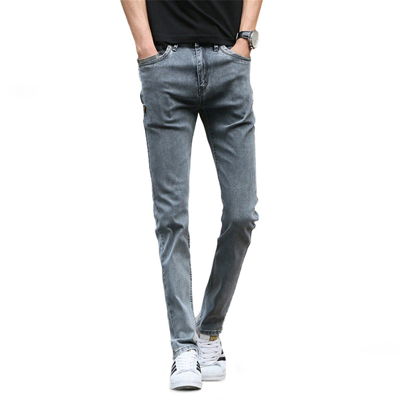 7c144242716d Get Quotations · George Gouge Denim Long Pants Men Jeans 2018 Fashion  Casual Cotton Four Seasons Skinny Jeans Men
