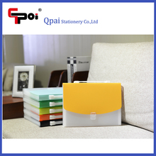 Office & School Stationery Custom PP Plastic 13 Pockets File With Hand Carring Expanding Folder With Lock Accordion Folder