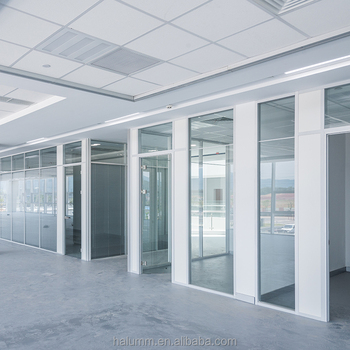 Modern Soundproof Office Partition Glass Wall Modular Partition ...