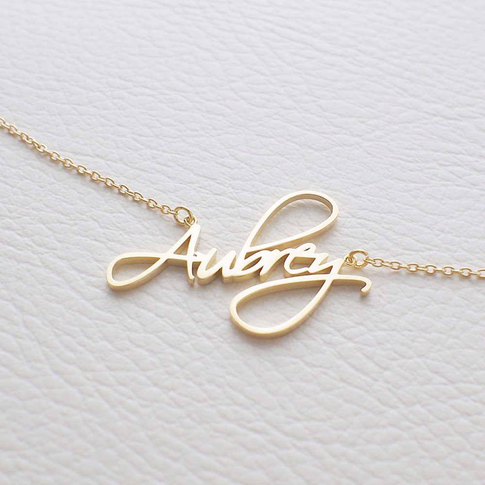 ct jewelry necklace personalized tone avital christine co pendant two diamond i gold and name