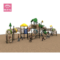 School climbing frames for kids outdoor playground sliding swing seesaw games equipment