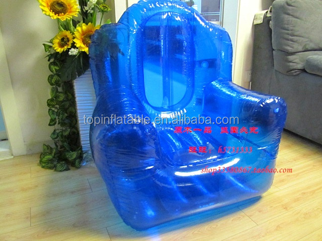 Travelling Strong inflatable transparent sofa air chair for fishing