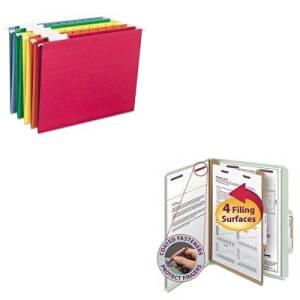 KITSMD13776SMD64059 - Value Kit - Smead Pressboard Classification Folders (SMD13776) and Smead Hanging File Folders (SMD64059)