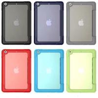 Case for iPad Mini 3 / 2 / 1, Ultra Slim Smart-shell Stand Case with Soft TPU Back Cover for Apple iPad Mini 1 (2012) / iPad Min