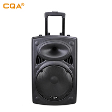 Cqa <span class=keywords><strong>Suara</strong></span> 15 Inch Bluetooth Powered Portable Pa Partai Speaker
