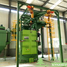 Hook Type Head Rail Shot Blast Cleaning Machine