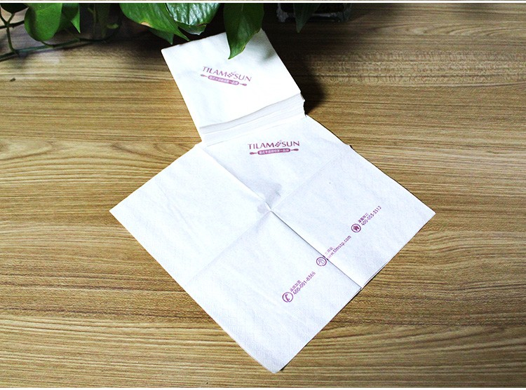 Wholesale Cheap Eco Friendly Printed Paper Napkin