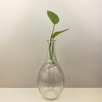 540ml Thin Neck Glass Vase Buy 540ml Glass Vaseglass Vasethin