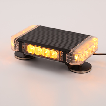 Slim mini security amber strobe light bar police led warning lightbar for emergency vehicle