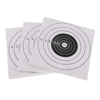 Archery Target Paper - Shooting Target Paper Cardboard Targets for Bow - Slingshot - Target Foam Archery Accessories