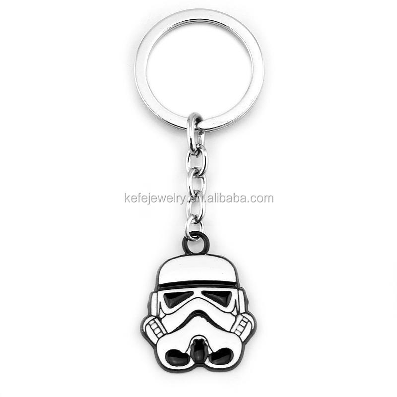 Movie Series Keychain Star W Ars Stormtrooper Enamel Key Chain ...