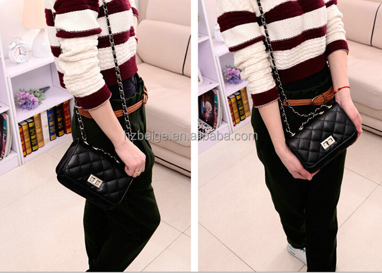 2016 Fashion Leather Bag,Leather Sling Bags Women,Quilted Leather ...