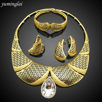 Fashion Gold Plated wedding jewelry sets