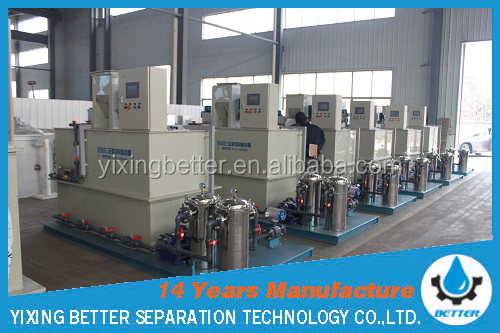 SQC-1000 PAM polymer preparation and dosing system