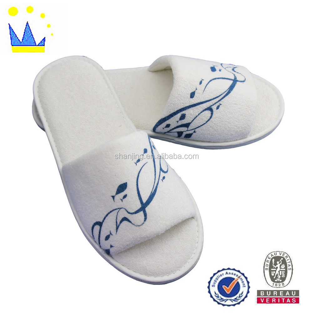 good sales soft and comfortable new design cotton hotel slipper