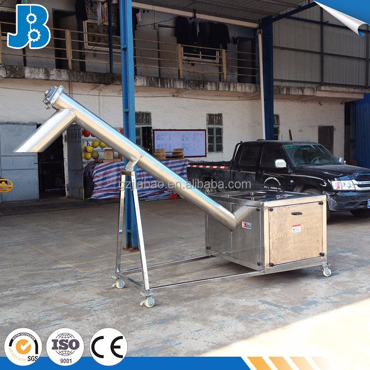 Easily installation corn large hopper with screw auger transfer
