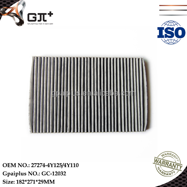27274-4Y125/4Y110 Cabin filter with Factory Price