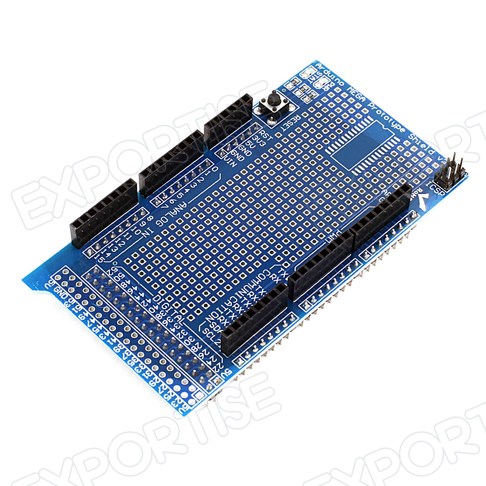 Prototype Shield Expansion Board with Breadboard for Arduino Mega 2560