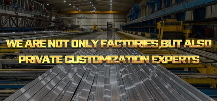 Alu/Aluminium Extrusie Profiel, Industriële Extruderen Aluminium