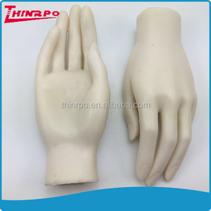 Customized soft silicone women 3d hands model for nails training