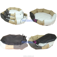 Eco recycled fiberfill dog bed